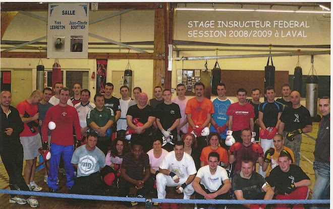 STAGE BOXE ANGLAISE INSTRUCTEUR FEDERAL