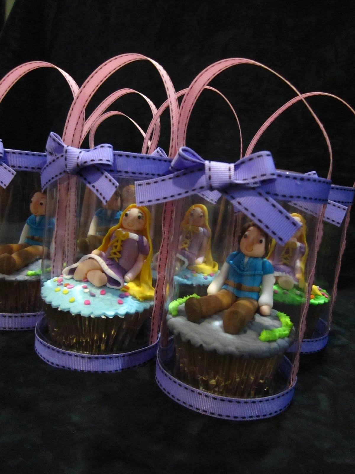 Dumont Cake Rapunzel Cupcakes