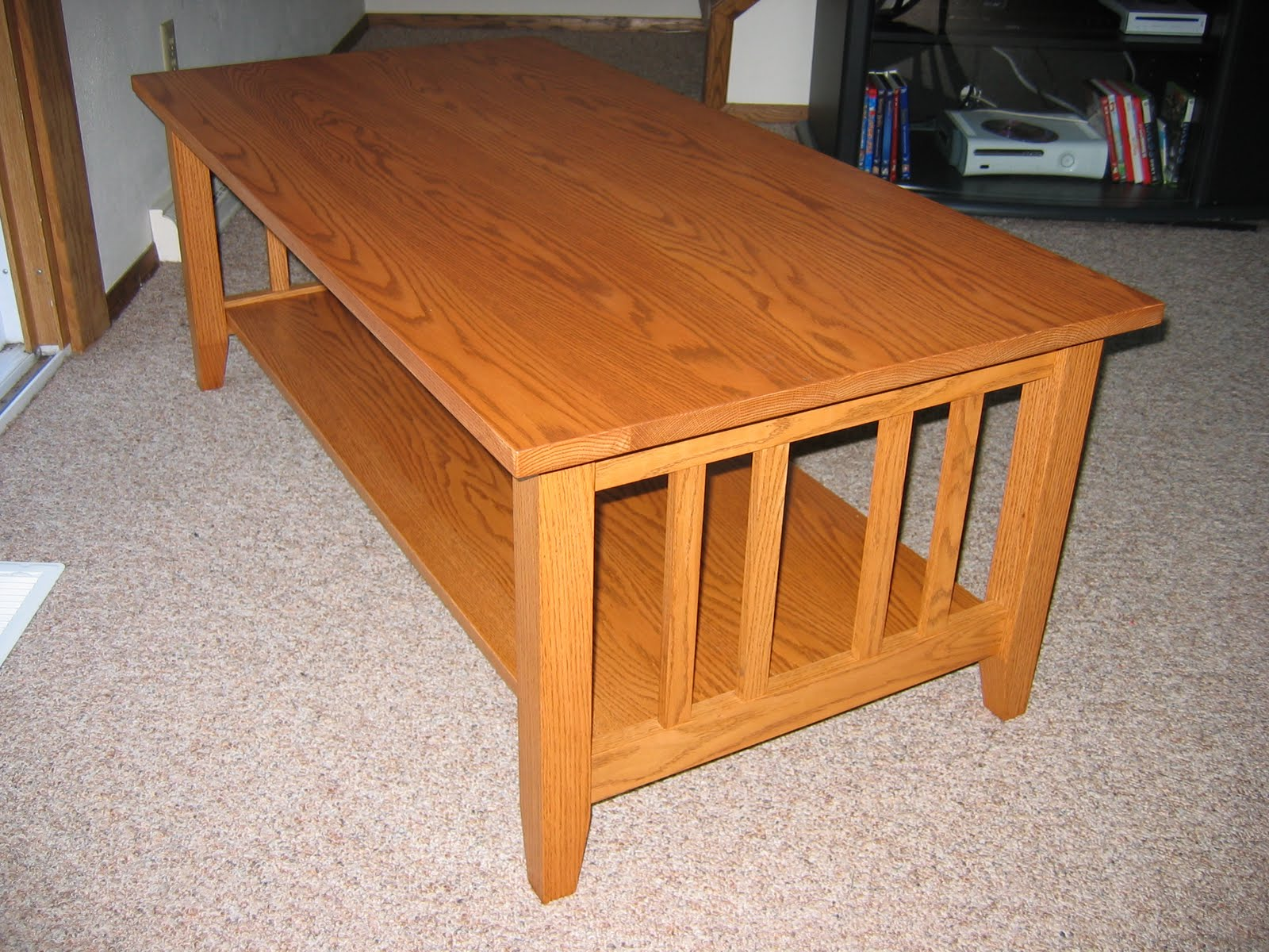 Chris' Project Page: Craftsman Style Coffee Table - Done!