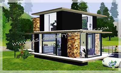 Casa akla the sims 3 for Casa moderna los sims 3