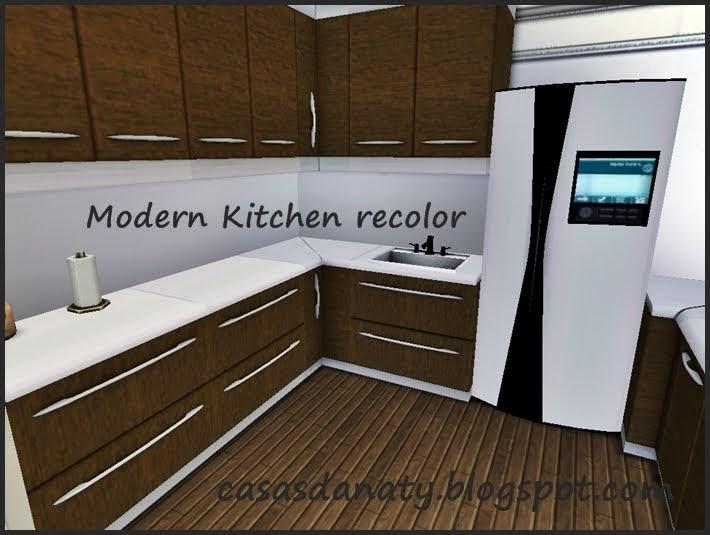 Sims  Modern Kitchen