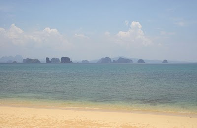 Beach and east coast of Koh Yao Noi