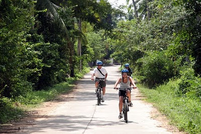 Cycling in Koh Yao Noi
