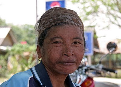 Local lady at Koh Yao Noi
