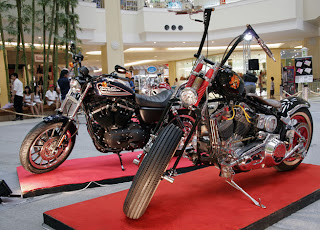 Big Bikes at Jung Ceylon Mall in Patong, Phuket