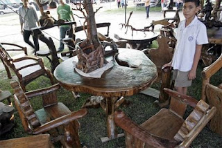Furniture at the OTOP Fair