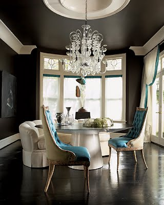 [black+and+turqoise+dining+room+white+chandelier+decorpad.jpg]