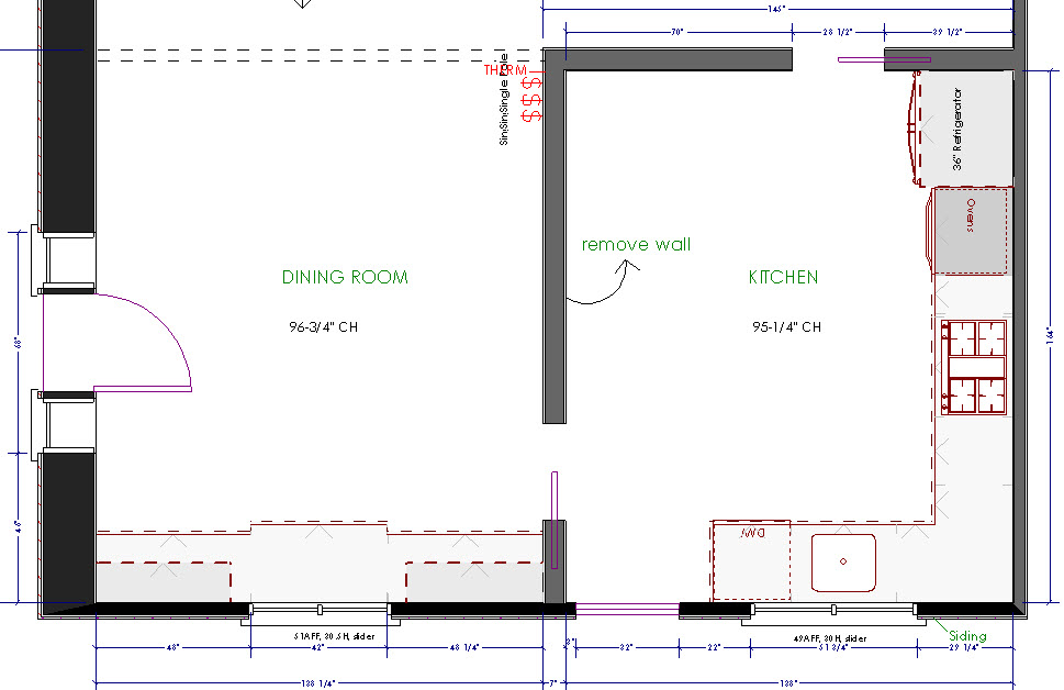 refrigerator layout in kitchen feed kitchens