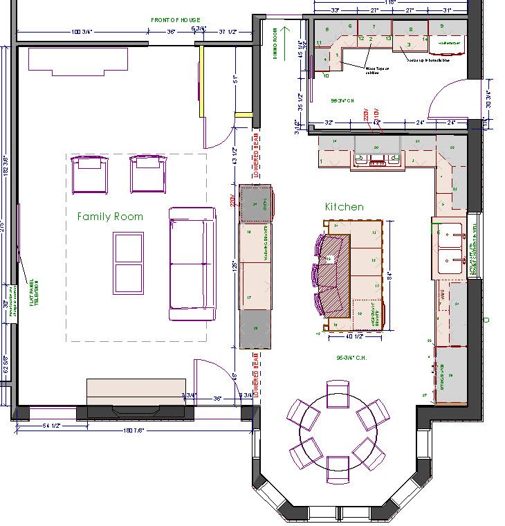 merion kitchen floorplan
