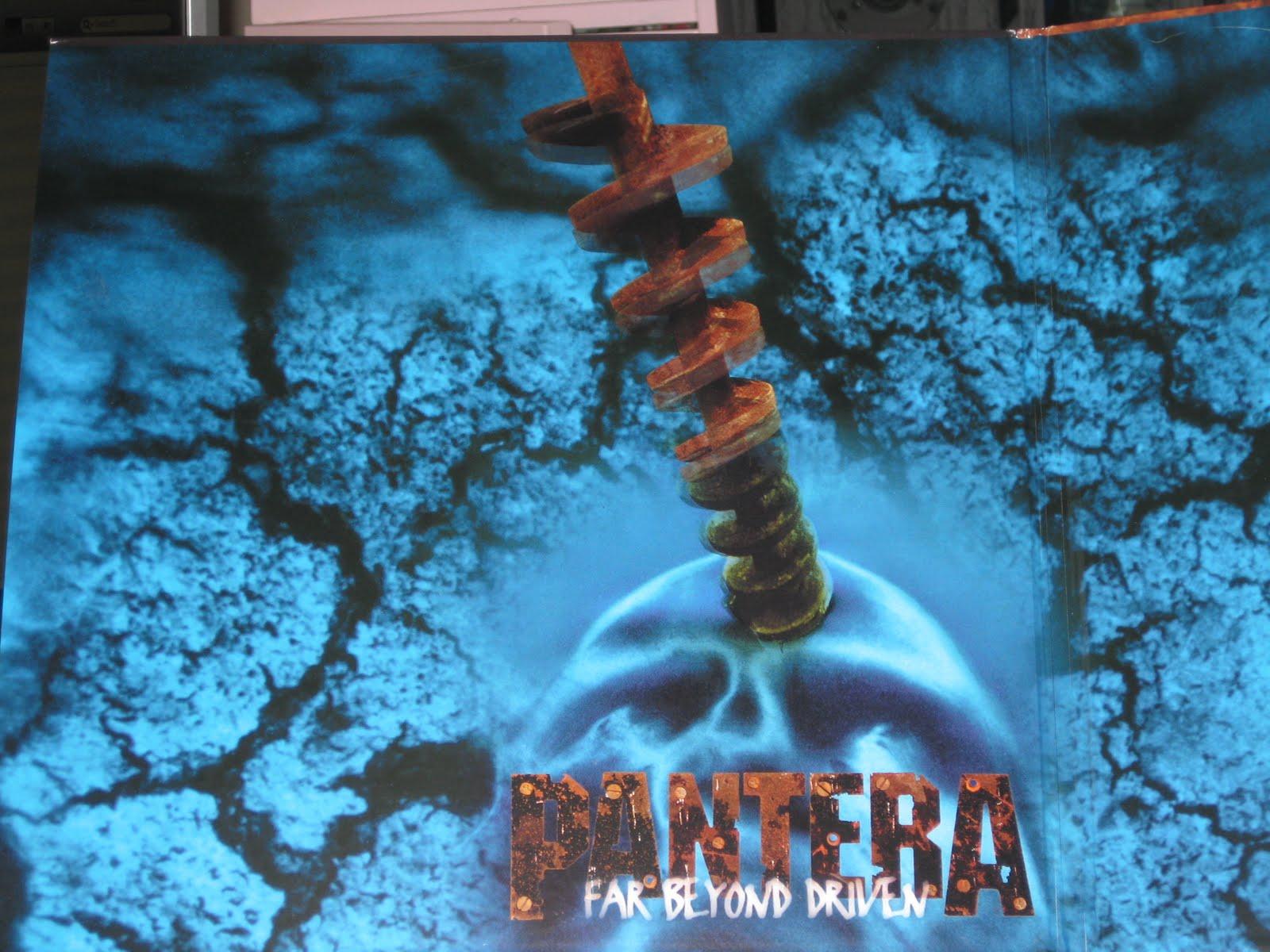 Pantera Far Beyond Original Art
