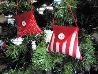 Christmas ornament handbag