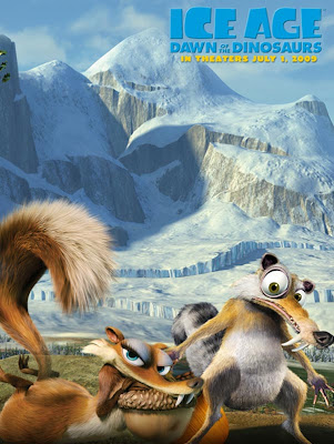 Scrat the squirrel and his girlfriend Scratte