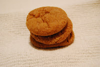 Molasses Cookies via The Naptime Chef