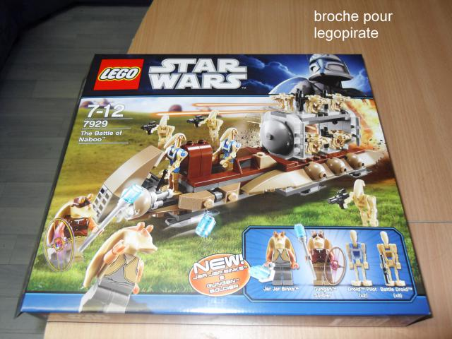 Boris Bricks: LEGO Star Wars #7929 The Battle of Naboo Box Art