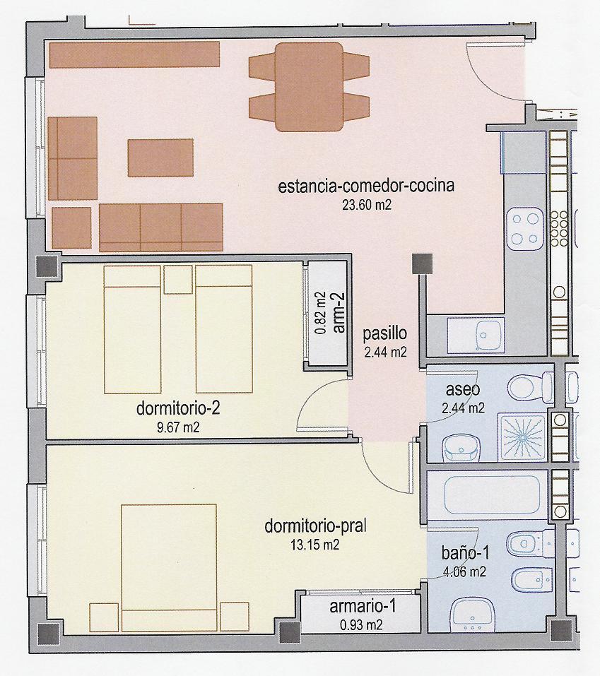 Estudio De La Emancipacion Planos De La Casa - Planos-de-casas-en-l