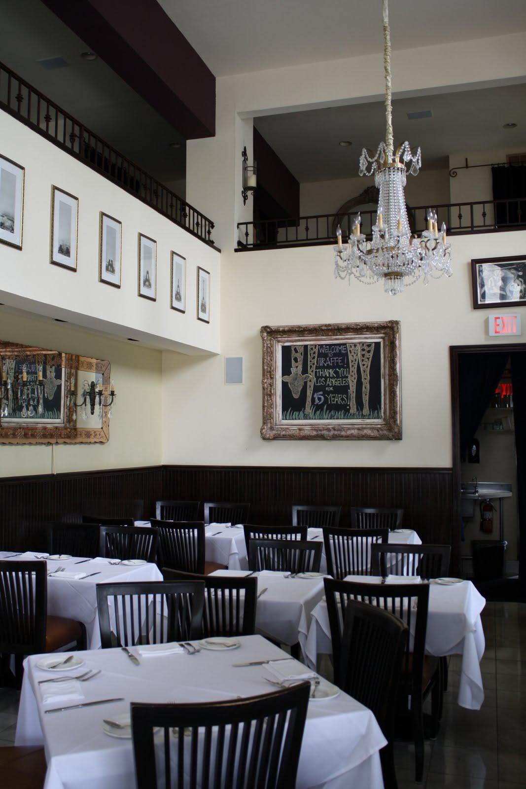 Restaurant Review Jiraffe Santa Monica Ca