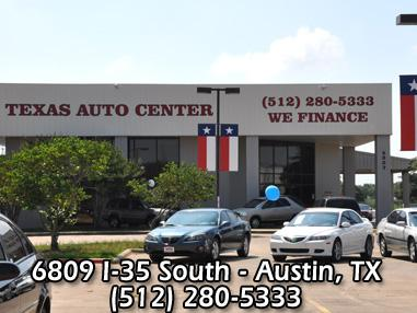 texas auto center where to buy a used car in austin texas. Black Bedroom Furniture Sets. Home Design Ideas