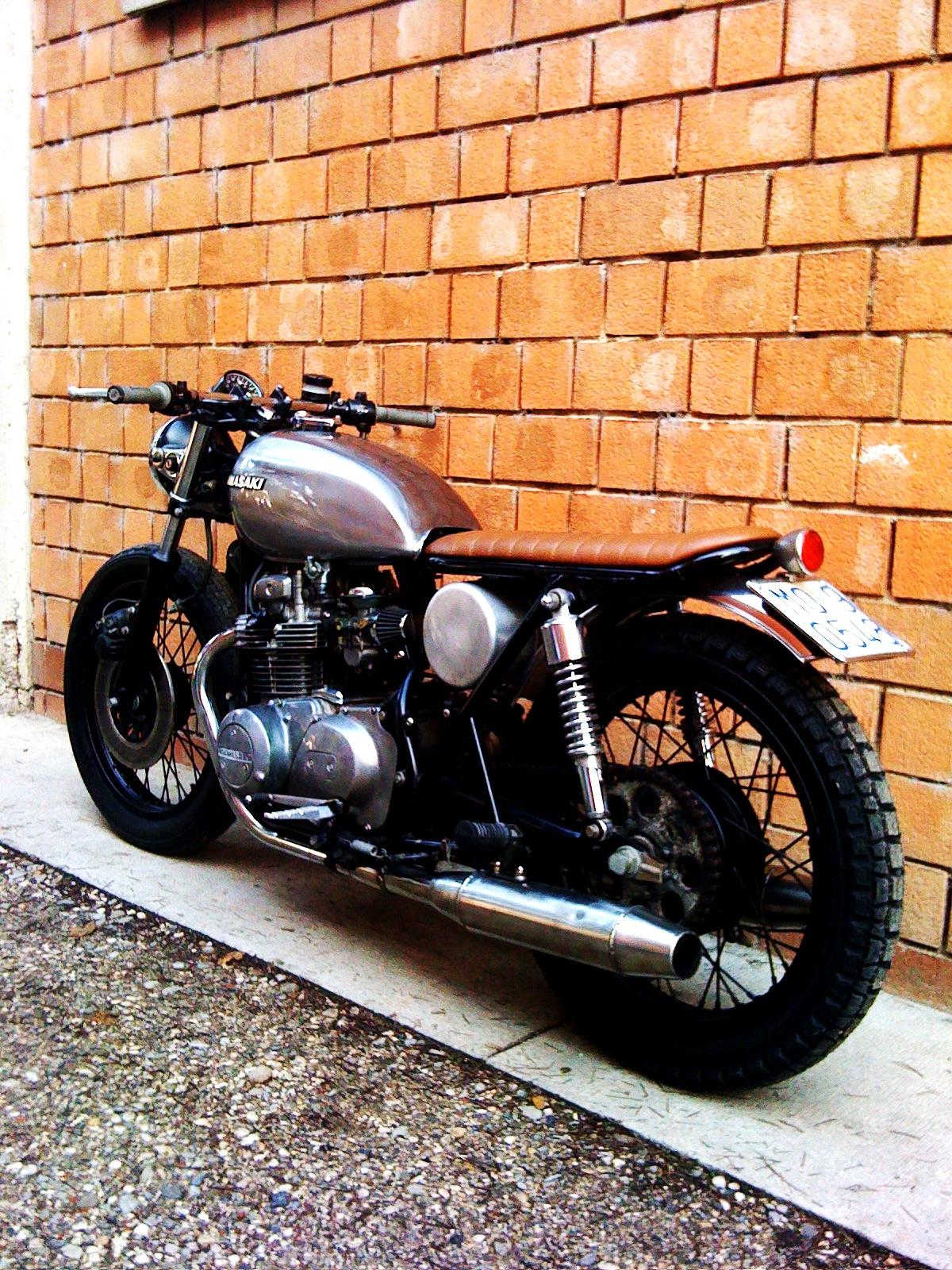 B R Moto Art Quot Br004 Quot Kawasaki Z400 1976