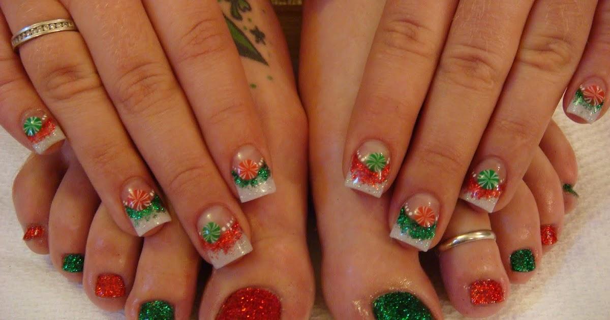 Nail Art Gallery: Christmas Nails Designs