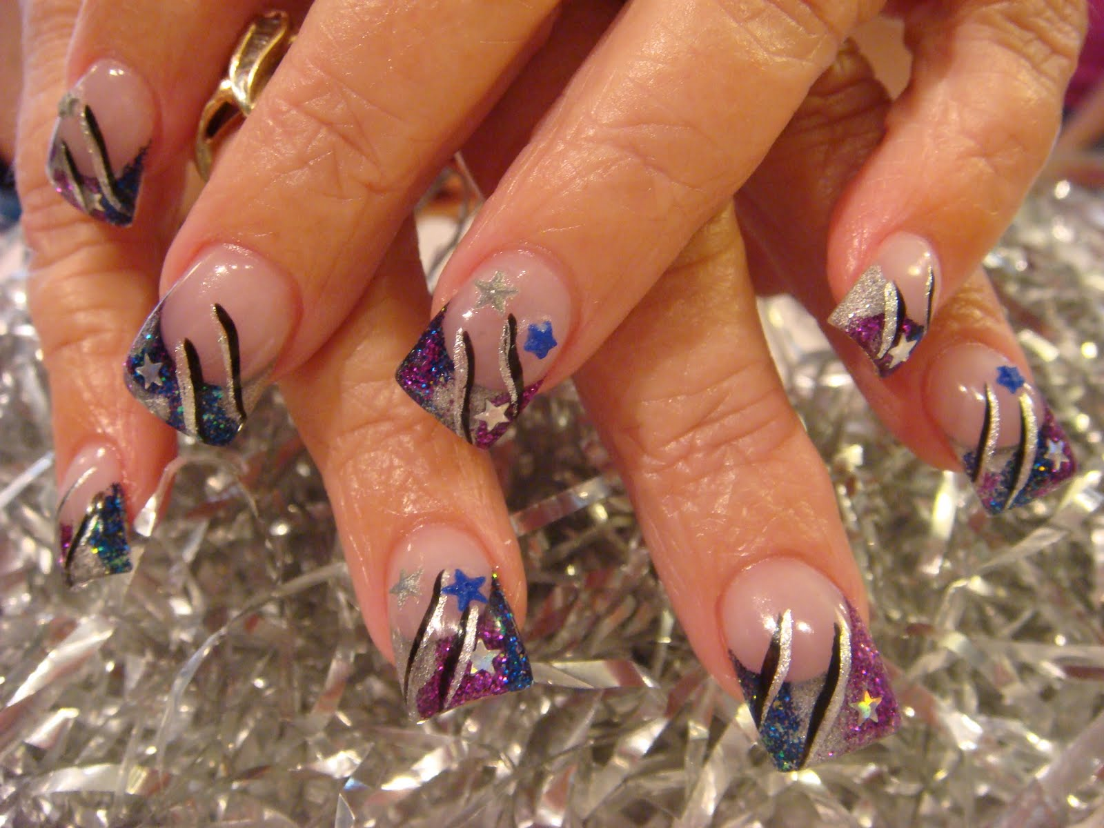 The Elegant acrylic nail designs for 4th of july intended for your ...
