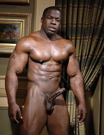 Black Muscle Male Porn