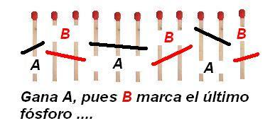 Matematicas Maravillosas 11 Fosforos Juego Y Magia Un Juego Y Su