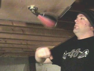 speed bag training board follow through