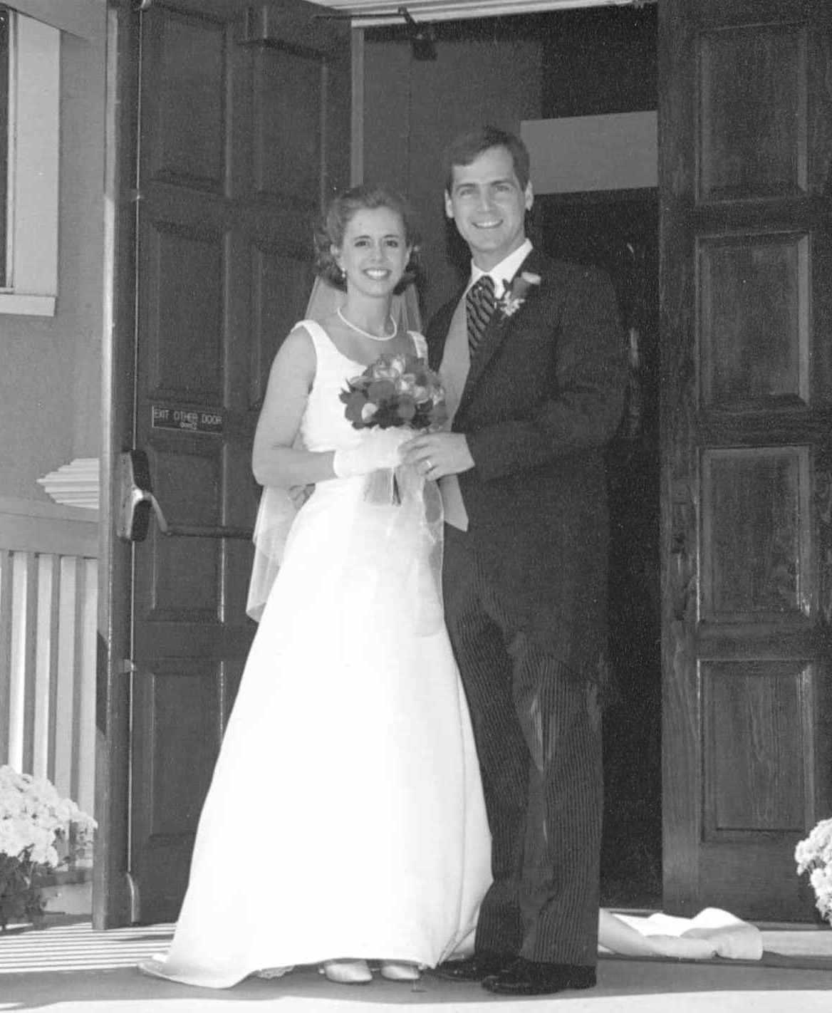 Young Ina Garten Wedding Photo