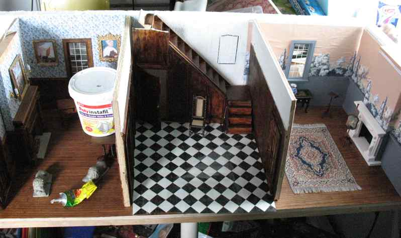 The Tudor Medieval Jacobean Queen Anne Dollhouse Project