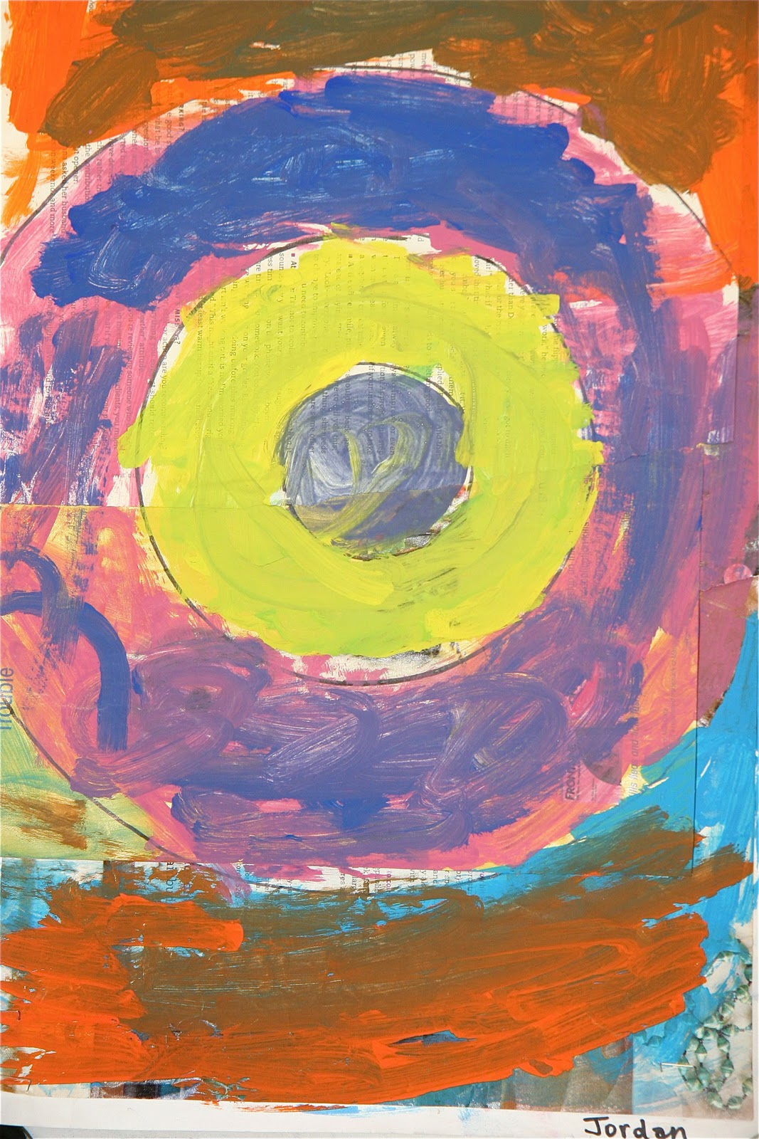 Splish Splash Splatter: Jasper Johns Target Paintings