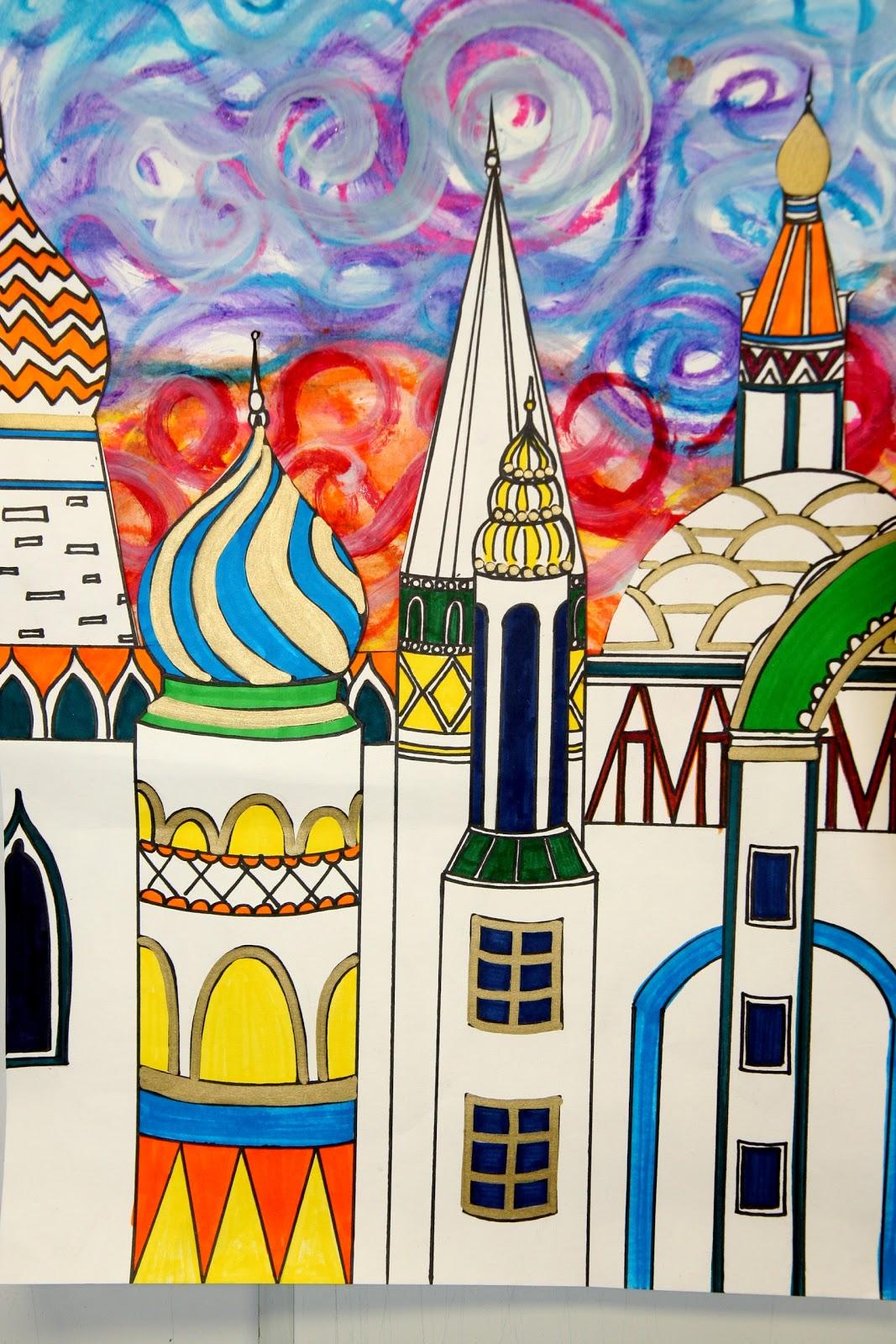 Splish Splash Splatter Russian Architecture Inspired By Tchaikovsky