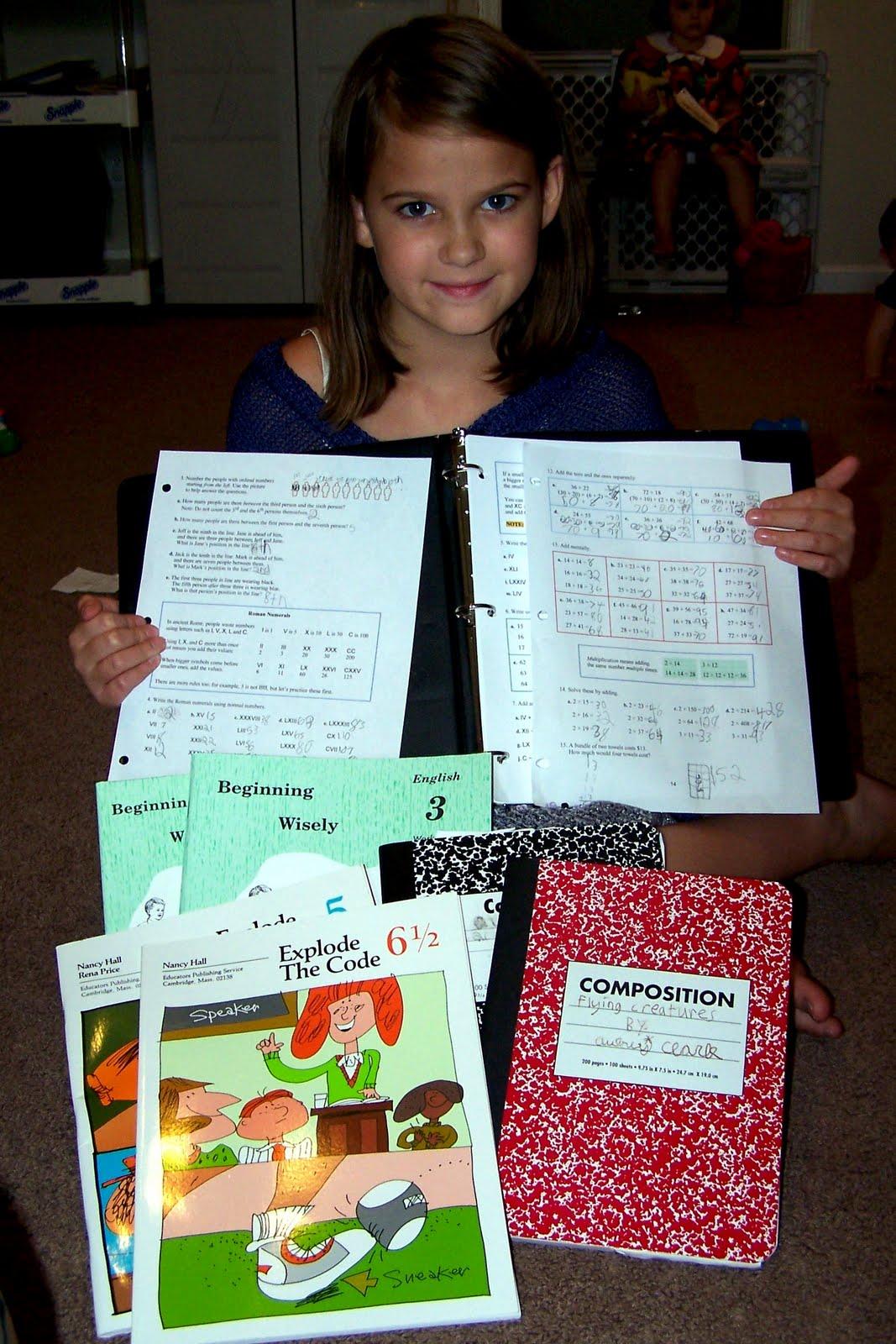 Workbooks rod and staff workbooks : Learning at His Feet: Curriculum Picks