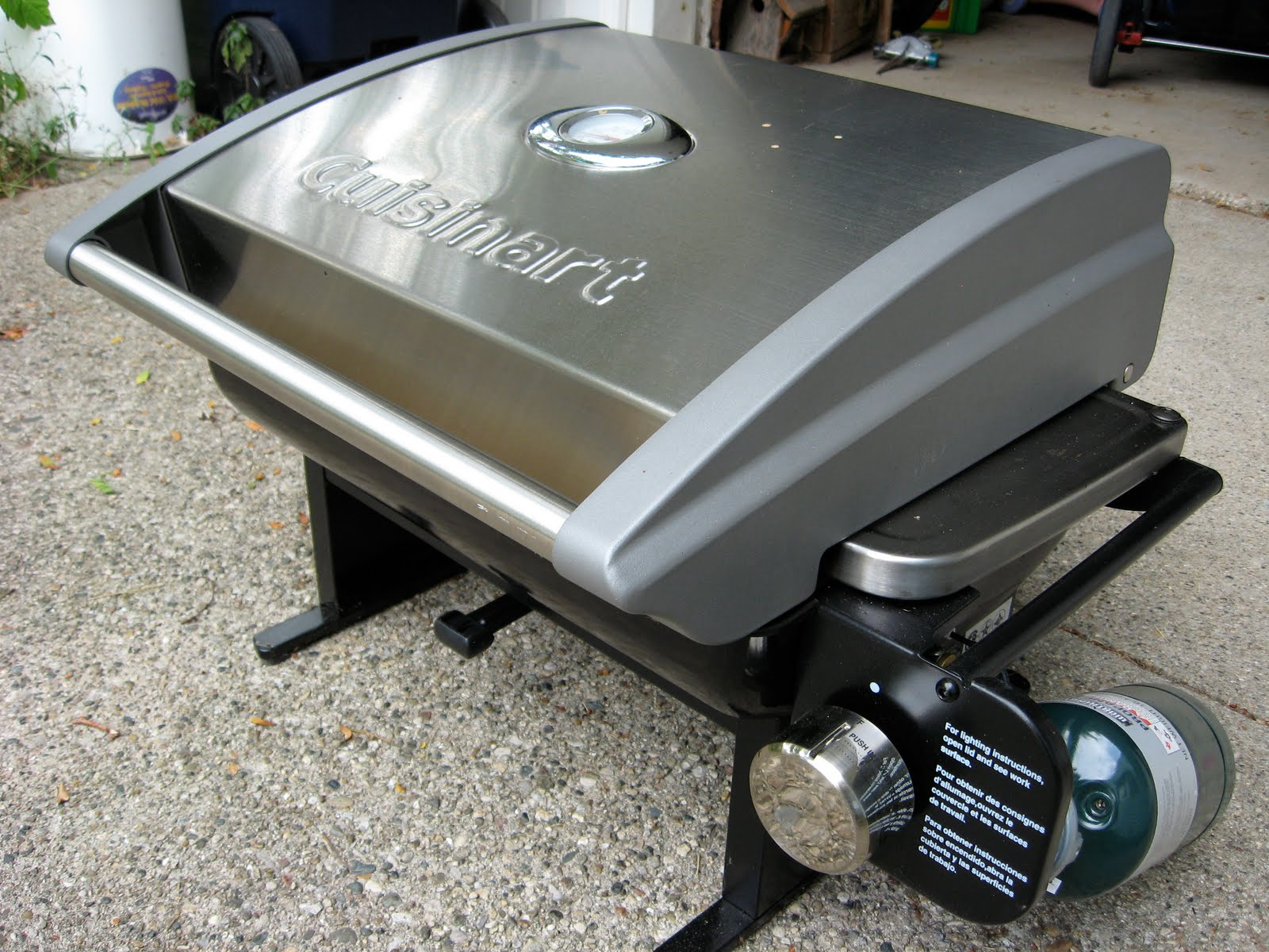 One Little Word She Knew Cuisinart Gas Grill Review