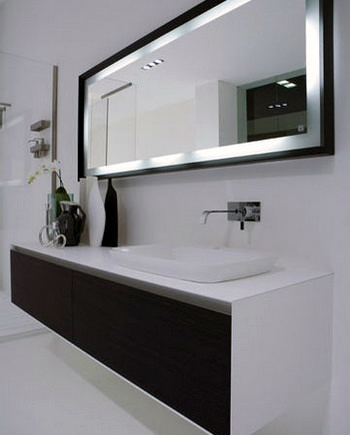 comment choisir un miroir de salle de bain meuble et. Black Bedroom Furniture Sets. Home Design Ideas