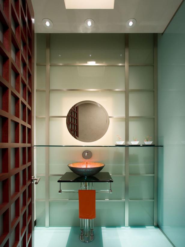 Photo de salle de bain moderne meuble et decoration de for Armoire de salle de bain moderne