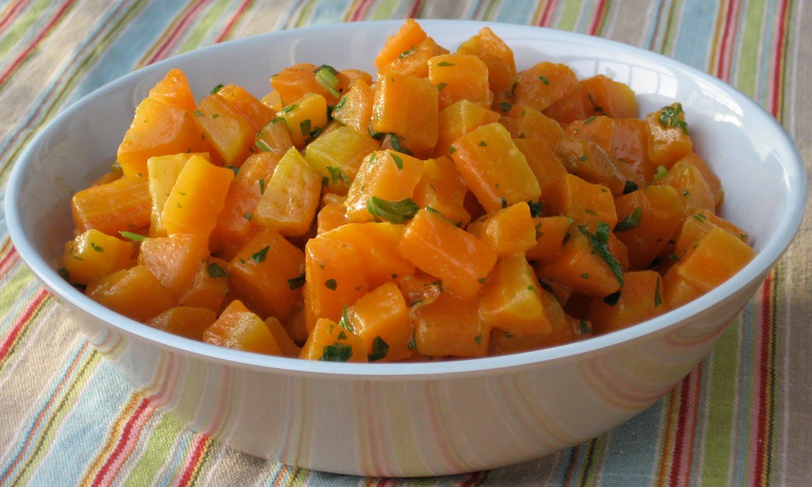 Keitetyt Porkkanat