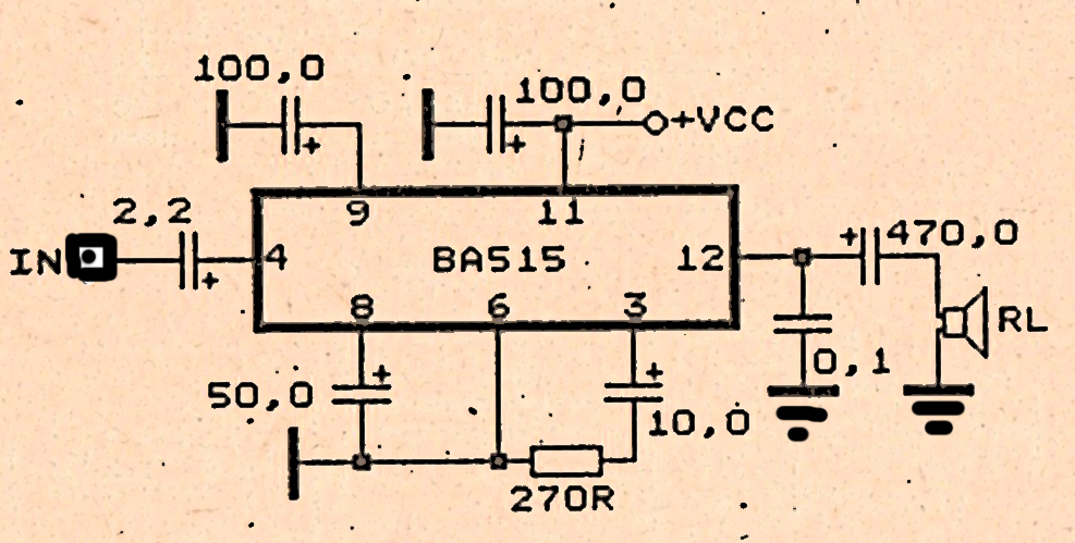 simple amplifier schematic diy circuit rh avecircuits blogspot com Amplifier Circuit Guitar Tube Amplifier Schematics