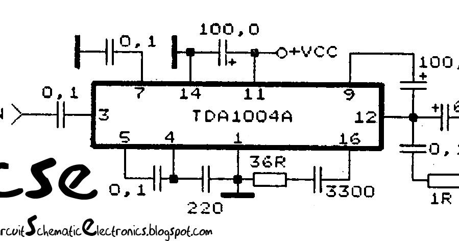 30 watt subwoofer amplifier circuit