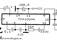 tda7240 tda7241 amplifier schematic electronic circuit rh elcircuit com