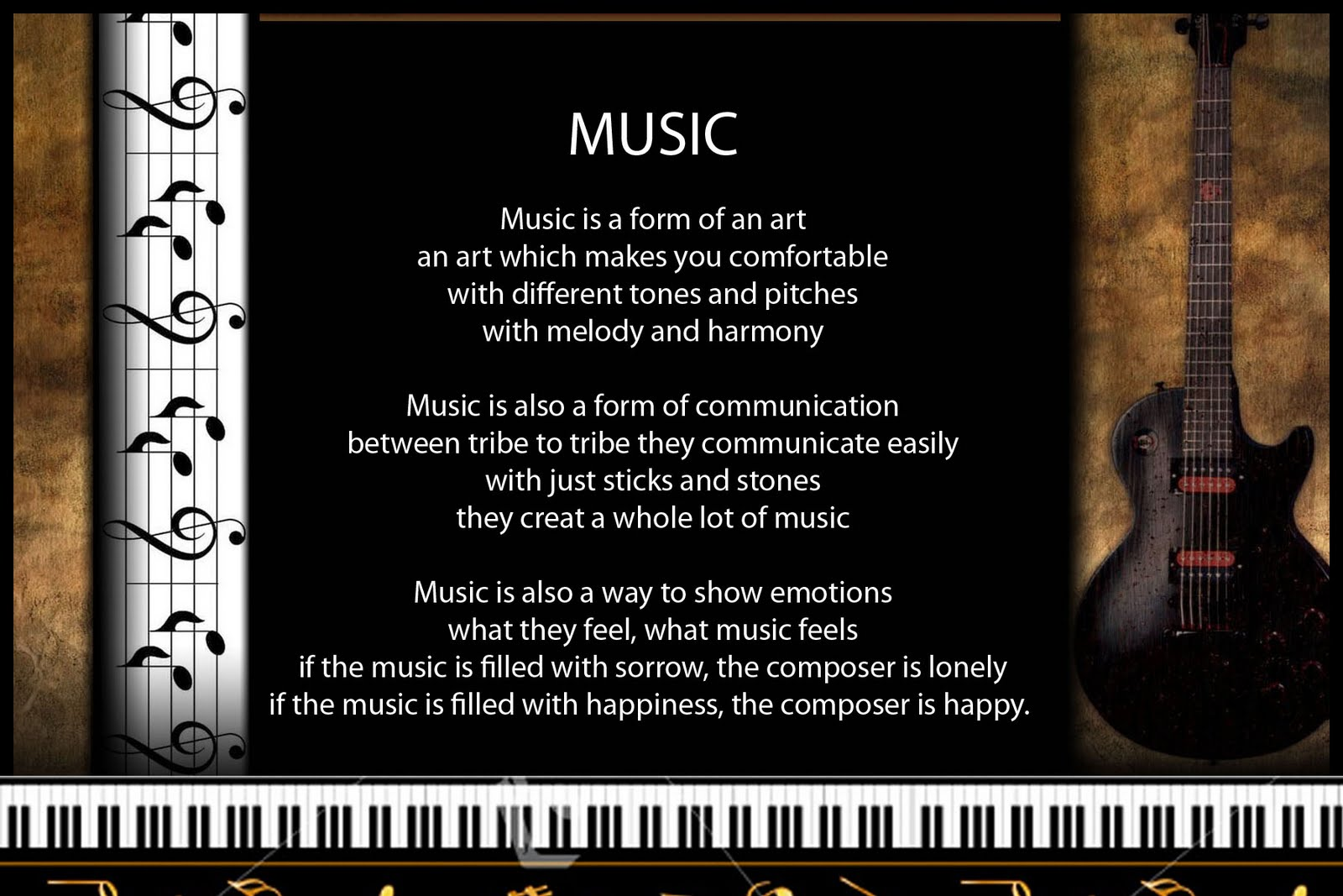 """Music Is Love."""