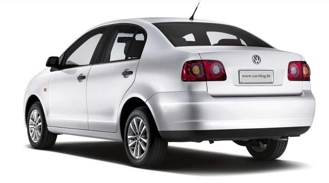 Novo Polo 2012 traseira sedan