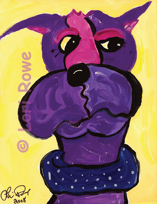 Grape Dane - Original or Giclee'
