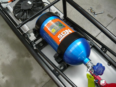 Racing NOS Nitrous bottle
