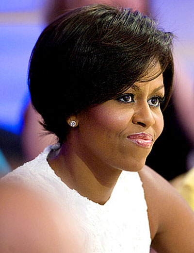 Hair Salon Black Hair & Style: Michelle Obama