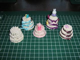 Miniatuur poppenhuizen luiertaart 1