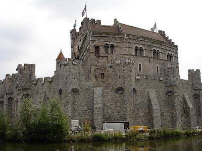 El Castillo De Los Condes De Flandes Gante