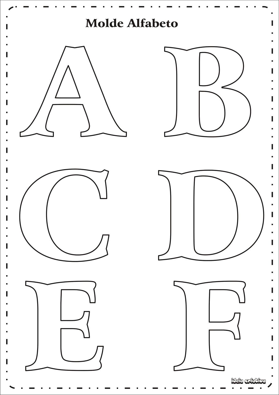 Abecedario De Letras Goticas En Grande