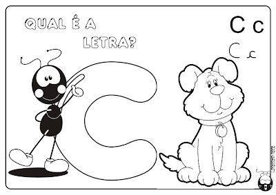 Alfabeto Smiliguido pra Imprimir Letra A, B, C