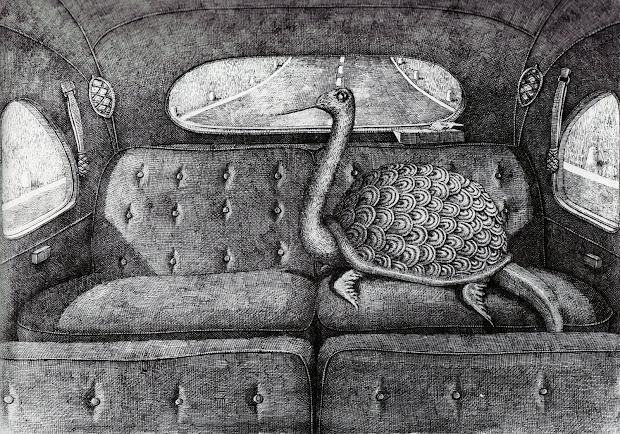 Art Rotation Edward Gorey