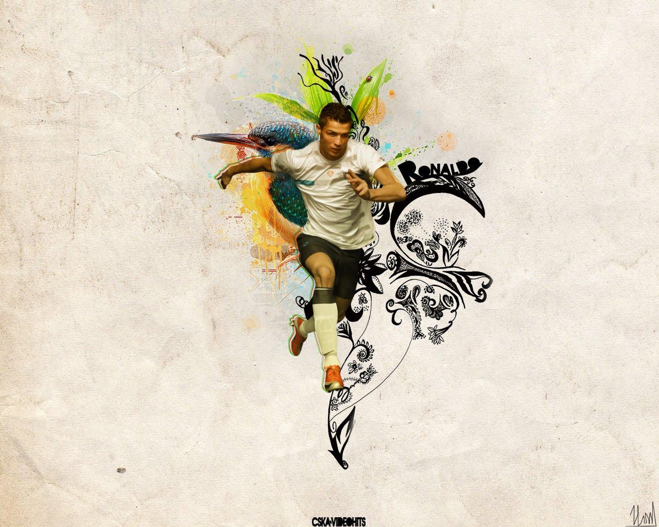 Football Wallpapers 23: Football Wallpapers&Football-Avatars: Wallpaper-C.Ronaldo
